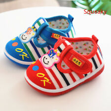 Cute Spring Toddler Babys Walking Shoes Soft  Girl Infant Squeaky Shoes Cartoon