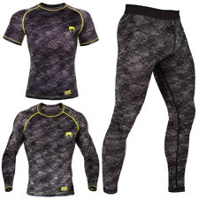 Mens Compression Activewear Sports Cycling Base Layer Tights Shirt Under Suit