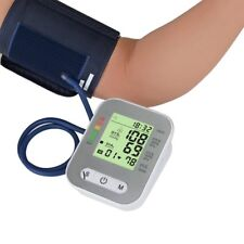 NEW Upper Arm Blood Pressure Pulse Monitor Digital LCD Sphygmomanometer Family S