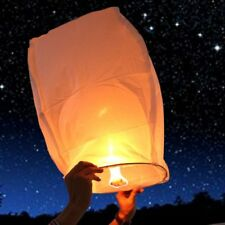 10pcs Fly Lanterns Chinese Paper Wishing Lamp Sky Candle Flying Fire Kongming