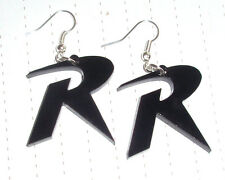 Super Hero Batman *Robin* Modern Logo Charm Earrings Retro Kitsch Kawaii
