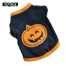 Halloween Pumpkin pet dog clothes chihuahua cheap dog clothing small dog clothes