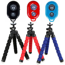 Mini Universal Flexible Stand Tripod Mount + Free Holder For Smart Phone iPhone