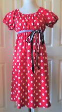 Handmade 60's & 70's Inspired Dress Casual Size S M L Cotton Choose Fabric