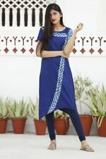 Top Tunic Wedding Dress Women Ethnic Full Length Party Wear Rayon Material Kurti