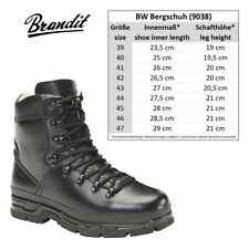 "Brandit® BW German Army Military Mens Mountain Boots  ""BW Bergschuh"" - Brand New"