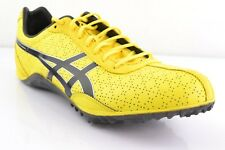 Asics Fast Lap Md Yellow Black Men's Spike Shoes High Jump Spikes