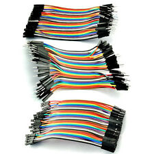 40/80pcs 10cm Male Female Dupont Wire Cables Jumper 10cm 2.54MM 1P For Arduino