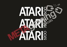 Atari Console logo for Nintendo PS Xbox or Car Decal Sticker