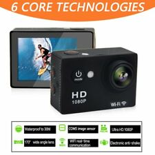1080P HD Sports Camera WIFI Mini DV Carry Case Bundle Action Camcorder OK