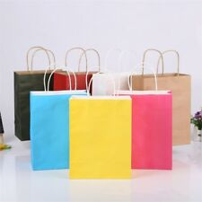 US Recyclable Paper Bag Wedding Birthday Party Gift Bags With Handles Shopping