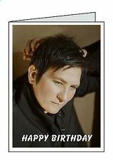 KD LANG Personalised A6 or A5 Birthday Cards D37      Greeting Thank You Welcome