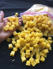5lb -  pure BEESWAX  cubes from HONEY GLOW FARM