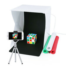 Mini Portable Photo Studio Folding Table Top LED Light Box Photography Lighting
