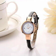 Fashion Women Lady Bracelet Wristwatch Analog Quartz Round Watch Gift