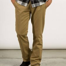 NEW VOLCOM MENS FRICKIN MODERN STRETCH CHINO PANTS