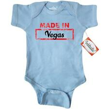 Inktastic Made In Vegas Infant Creeper Baby State Gift One-piece Bodysuit