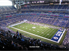 2 Dallas Cowboys vs Indianapolis Colts 2018 Tickets Front Row Lucas Oil Stadium