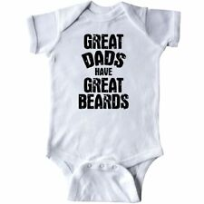 Inktastic Great Dads Have Great Beards Infant Creeper Men Tattoos Baby Toddler