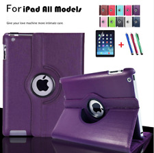 360 Rotate Smart Stand Leather Case Cover For Apple iPad 2 3 4 5 / Air / Mini