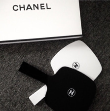 Authentic Chanel VIP gift set makeup mirror handheld limited glossy black white