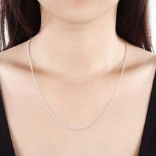 925 LOGO Silver Necklace, Silver Fashion Jewelry Snake Chain Necklace
