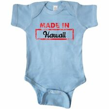 Inktastic Made In Hawaii Stamp Infant Creeper Baby State Gift One-piece Bodysuit