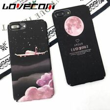 Cartoon Aircraft Stars Phone Case iPhone 6 6S 7 Hard Matte Plastic Back Cover