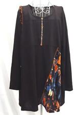 WINTER Plus Size 18 and 20 Soft Long Slve TUNIC Dress Multi Pattern PRINT TOP