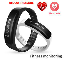 Smart Bracelet Watch Herat Rate Blood Pressure Monitor Fitness Tracker Pedometer