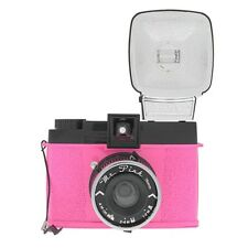 NEW LOMOGRAPHY DIANA F+ CAMERA AND FLASH (MR. PINK EDITION)
