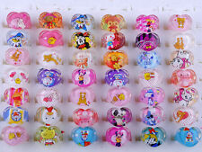 FREE Wholesale Mixed Lots Cute Cartoon Children/Kids Resin Lucite Rings Choose~