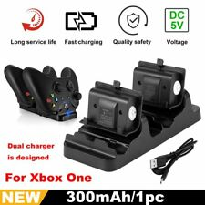 2Pcs Battery Packs + Dual Charging Dock for XBox One Wireless Controlle BS