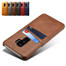 For Samsung Galaxy S9/S9 Plus PU Leather Wallet Crdiet Card Slot Back Case Cover