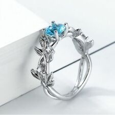 Women Fashion Finger Ring Women Jewelry Floral Rings For Wedding Birthday Party