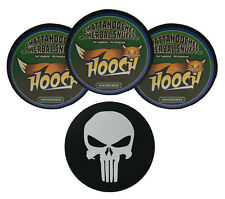 Hooch Wintergreen Fine Cut Herbal Chew - 3 Can - Includes DC Skin Can Cover