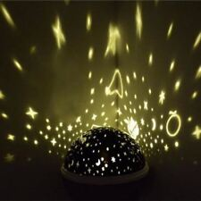 Night Light Projector Spin Starry Sky Star Master Led USB Lamp Projection
