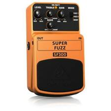 NEW BEHRINGER SUPER FUZZ SF300 3-MODE DISTORTION EFFECTS PEDAL