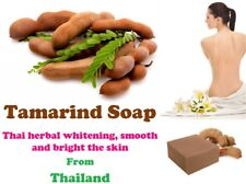 Tamarind Soap Thai herbal whitening, smooth and bright the skin from Thailand