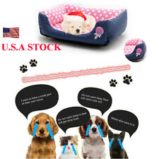 Cute Pet Bed Cushion Dog Cat Warm Mat Blanket Soft Pad Nest For Crate Cozy House