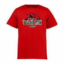 Washington-St. Louis Youth Red Classic Primary T-Shirt - College