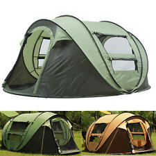 Outdoor 3-4 Persons Camping Tent Automatic Opening Waterproof Windproof Beach
