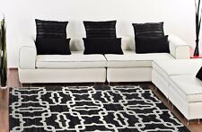 RUGS AREA RUGS CARPET FLOORING 6361 BLACK ABSTRACT CARPET LARGE NEW AREA RUG