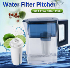 Water Pure Pitcher Direct Drinking Filter Jug 2.5L with Replacement Filter
