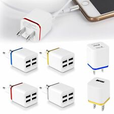 USB Wall Home Travel AC Power Charger Adapter 5V 2.1A/1A EU/US Plug For iPhone 8