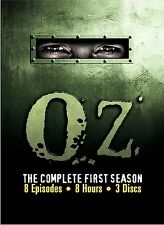 Oz - The Complete First Season (DVD, 2002, 3-Disc Set) HBO
