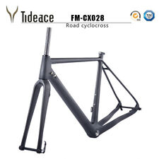 Cyclocross 700C*40C T800 Carbon Fiber Cyclocross Frame Road Cycling Gravel Frame
