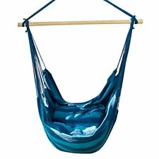Hanging Rope Brazilian Hammock Chair Net Swing Seat Indoor Outdoor Camping