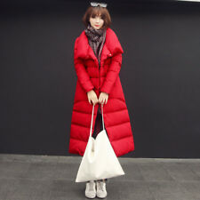 Jacket Down Coat Parka Long Women Hooded Winter S Fur Collar Cotton Quilted New