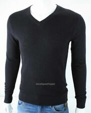 Armani Exchange A|X Mens V Neck Merino Wool Pullover Sweater NWT